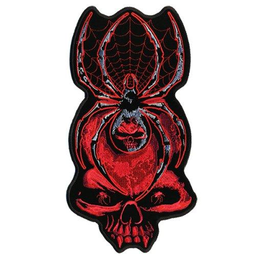 Hot Leathers Widow Skull Biker Patch (2