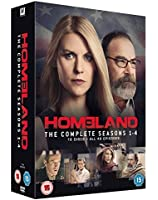 Homeland - Season 1-4 [DVD] [2011]