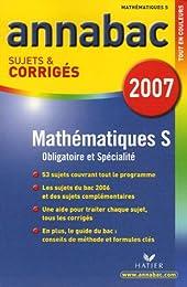 Mathématiques Tle S : Sujets et corrigés