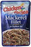 Chicken of the Sea Mackerel Fillet in Soybean Oil, 3.53 Ounce (Pack of 24)