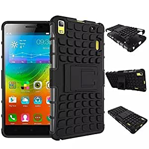 Novo Style Dual Layer Kick Stand Hard Back Case For Lenovo A7000