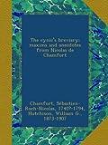 The cynics breviary; maxims and anecdotes from Nicolas de Chamfort