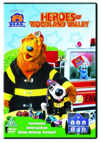 Bear In The Big Blue House  Heroes Of Woodland Valley [DVD]