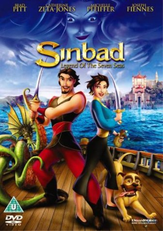 Sinbad Legend of The Seven Seas [DVD] [2003]