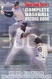 The Complete Baseball Record Book (Complete Baseball Record Book, 2000)