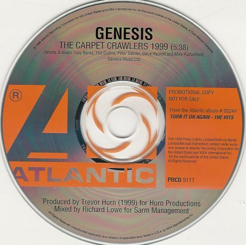 Genesis - The Carpet Crawlers 1999 - Zortam Music