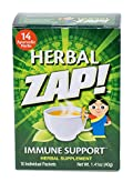 HERBAL ZAP Immune Support Herbal Supplement 10 packets