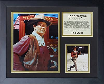 "Legends Never Die ""John Wayne Stagecoach"" Framed Photo Collage, 11 x 14-Inch"
