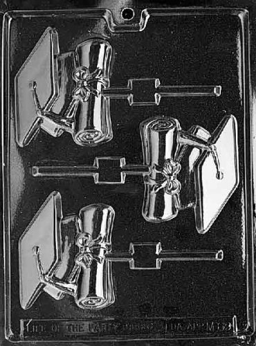 CAP & DIPLOMA LOLLY Miscellaneous Candy Mold Chocolate