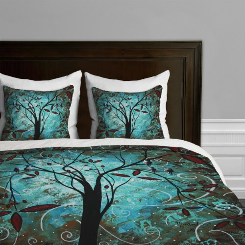 Deny Designs Madart Romantic Evening Duvet Cover, King front-937826