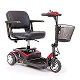 """Buzzaround Lite 3 Wheel Scooters Seat Size: 18"""" W x 16"""" D"""