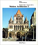 img - for Modern Architecture / 1 (History of World Architecture) by Manfredo Tafuri (1986-08-02) book / textbook / text book
