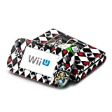 Alice Design Protective Decal Skin Sticker (High Gloss Coating) for Nintendo Wii U Console + Controller Device (Set)