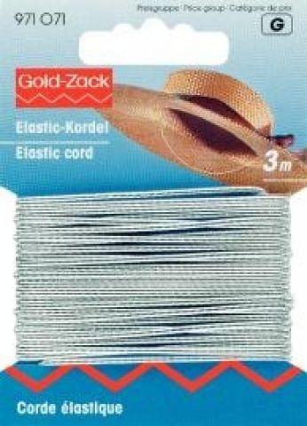Corde élastique 1,5mm argenté