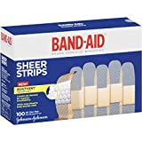 Band-Aid Sheer Strips All One Size 100 count
