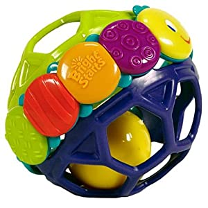 Amazon.com : Bright Starts Flexi Ball : Baby Rattles : Baby