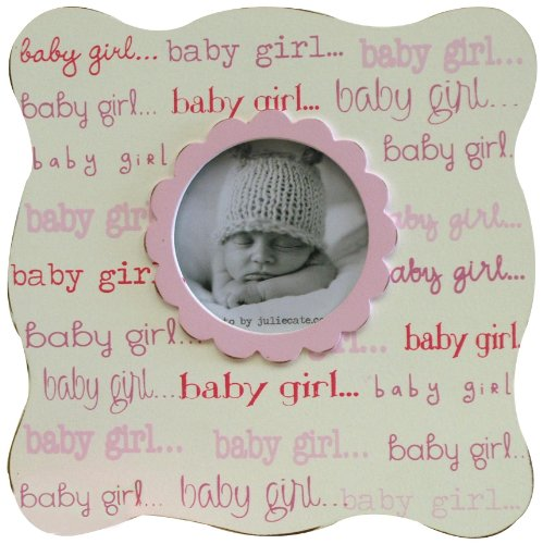 New Arrivals Baby Picture Frame, Girl front-673078