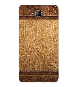 PrintVisa Plain Wooden Pattern 3D Hard Polycarbonate Designer Back Case Cover for Nokia Lumia 650