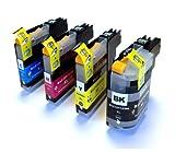 Set of 4 Compatible Ink Cartridges for Brother MFC J4510DW