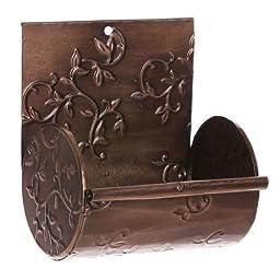 Evergreen Enterprises Embossed Antique Copper Nesting Box EG2BH282
