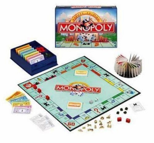 Monopoly Deluxe Edition Game