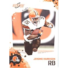Jerome Harrison - Cleveland Browns - 2010 Score Football Card - NFL Trading Card in...