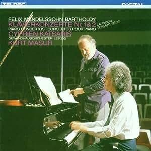 Mendelssohn:Piano Ctos. 1 & 2