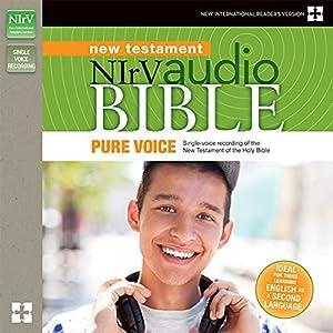 NIrV Audio Bible New Testament, Pure Voice Audiobook