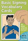img - for Vocabulary Cards: Set A (Green) (Sign Language - Hearing Series/Set a) book / textbook / text book