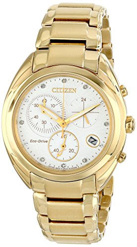 Citizen Women's FB1392-58A Celestial Analog Display Japanese Quartz Gold Watch
