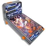 Portable Tabletop Pinball Machine Game