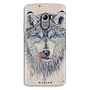 Mozine Hungry Wolf Printed Mobile Back Cover For Lenovo K4 Note