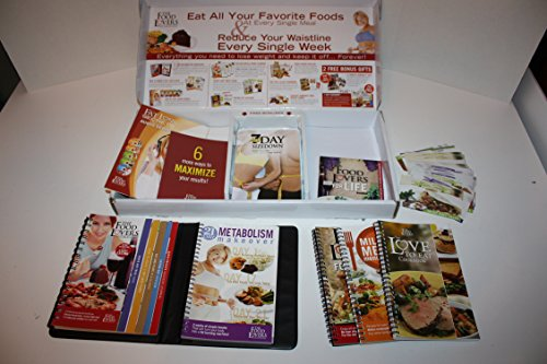 Food Lovers Fat Loss System Kit, Binder, Fat Loss Secrets Audio Series, 3 Dvds, 6 Audio Cds, Recipes, and 4 Ring Bound Books. (Food Lovers Fat Loss Recipes compare prices)