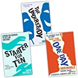 David Nicholls David Nicholls 3 Books Collection Pack Set RRP: £25.62 (Starter for Ten, One Day, The Understudy)
