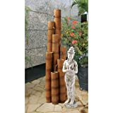 Design Toscano Cascading Bamboo Sculptural Fountain