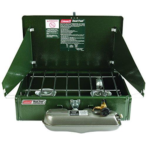 Coleman 2 Burner Dual Fuel Compact Liquid Fuel Stove (Colman Duel Fuel compare prices)