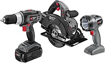 Porter Cable 18 Volt 3-Pc. Combo Kit