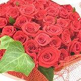 真っ赤なバラの花束!60本!【生花】