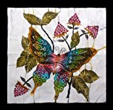 Butterfly Batik Wall Hangings -Tapestry Batik Art - Hand made (Small)