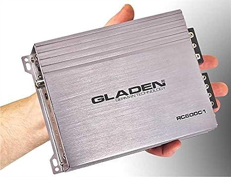 Gladen 600C1 rC amplificateur 1 canal mono numérique 560 x 1 w rMS à 2 ohms rC600C1