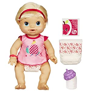 Baby Alive Wets And Wiggles Blonde