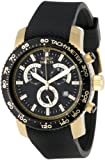 """Invicta Men's 11293 """"Specialty"""" 18k Gold Ion-Plated Watch"""