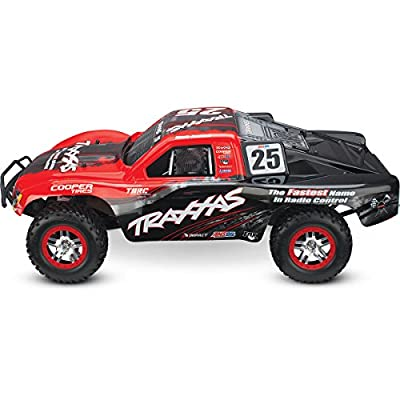 Traxxas 68086-1 Slash 4X4: 4WD Electric Short Course Truck, Ready-To-Race (1/10 Scale), Colors May Vary