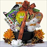 Cauldron Candy & Fun!: Halloween Gift Basket for Kids Ages 3 to 8