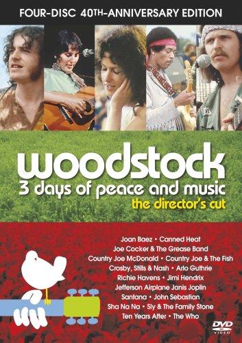ディレクターズカット ウッドストック 愛と平和と音楽の3日間 40周年記念 アルティメット・コレクターズ・エディション [DVD]