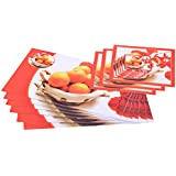 ITrend India PVC 6 Piece Placemats, 6 Piece Coasters And 3 Piece Bowl Mats (Classic, 45 Cm X 27.5 Cm X 1 Cm, Multicolor)