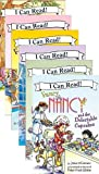 Fancy Nancy Six Book Super Reader Set (I Can Read Book 1) (Includes: Fancy Nancy and the Delectable Cupcakes; Fancy Nancy Spectacular Spectacles; Fancy Nancy My Family History; Fancy Nancy The Dazzling Book Report; Fancy Nancy Sees Stars; Fancy Nancy the 100th Day of School)
