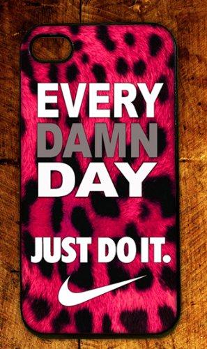 Custom Rubber Nike Logo case cover for iphone
