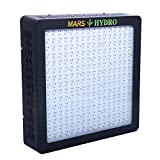 MarsHydro MARS II 1200 LED Grow Lights True Watt 540W-555W Full Spectrum High Penetration Veg & Flower Switchable for Indoor and Greenhouse Plants