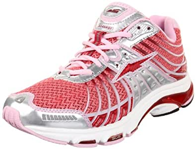 AVIA Women's Avi-Quest-A2545W,Pink Sugar/Chrome Silver/Metallic Red Blaze/ Seashell Pink,10.5 B US